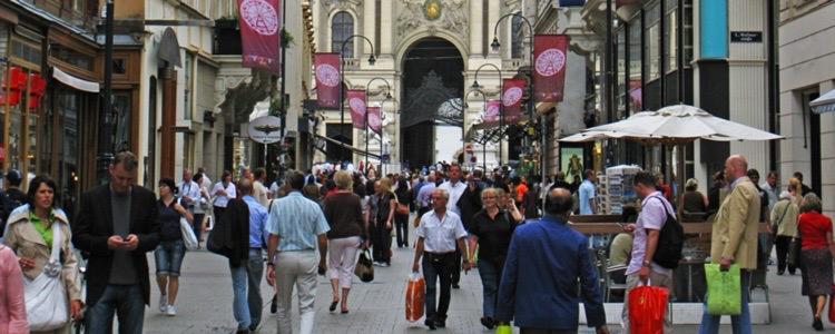 Shopping i Bryssel